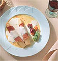 White Asparagus with Jamon
